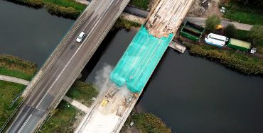 REMOVAL OF BRIDGE DECK LANGE WETERING